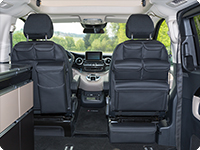 UTILITIES para los asientos de la cabina  Mercedes-Benz Clase V Marco Polo