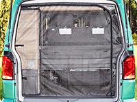 FLYOUT para la apertura del portón trasero, todos los VW T6.1/T6/T5 California (sin Beach)