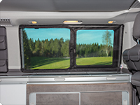 FLYOUT para ventanas correderas VW T6/T5 California